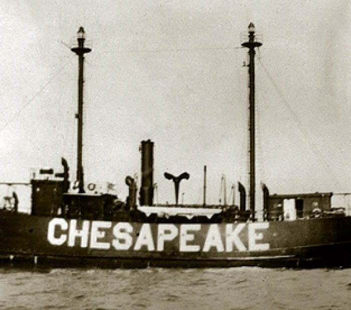 LIGHTSHIP CHESAPEAKE (LV-116, WAL-538)