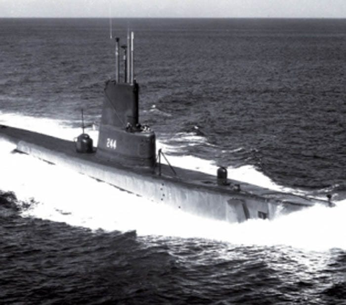 USS CAVALLA (SS-244, later SSK-244 and AGSS-244)